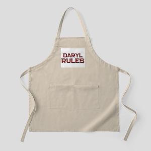 daryl rules BBQ Apron