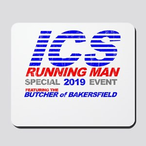 ICS Running Man Retro Mousepad