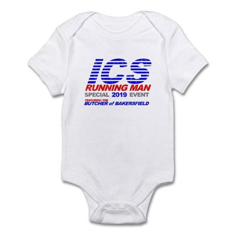ICS Running Man Retro Infant Bodysuit