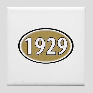 1929 Oval Tile Coaster