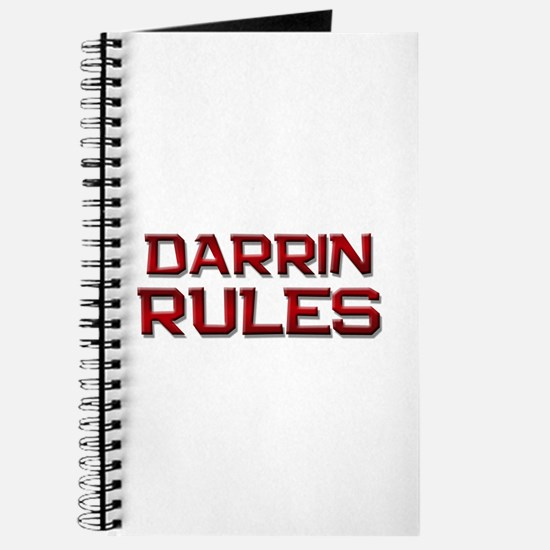 darrin rules Journal