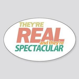 Real Spectacular Seinfeld Oval Sticker
