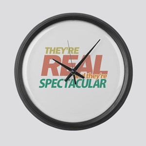 Real Spectacular Seinfeld Large Wall Clock