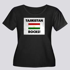 Tajikistan Rocks Women's Plus Size Scoop Neck Dark