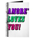 Amore' Maestri: Amore' Loves You! Journal