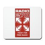 RADIO 270 England 1965 -  Mousepad