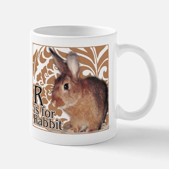 R is for Rabbit - Mug