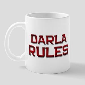 darla rules Mug