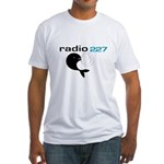 RADIO 227 England (unk) -  Fitted T-Shirt