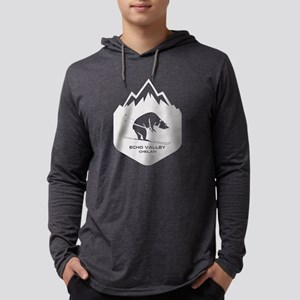 Echo Valley Ski Area - Chela Long Sleeve T-Shirt