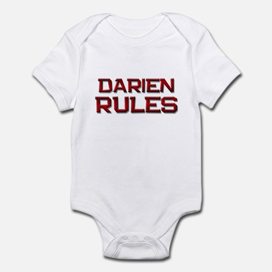darien rules Infant Bodysuit