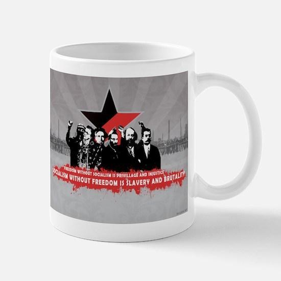 Anarchist_Commmunist_Poster Mugs