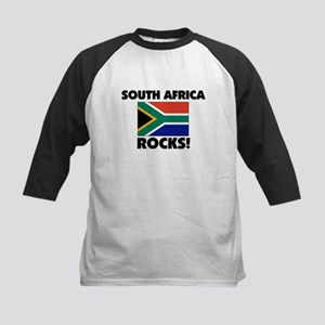 South Africa Rocks Kids Baseball Jersey