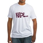 KXOL Ft Worth 1969 -  Fitted T-Shirt