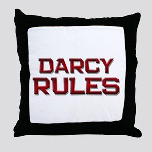 darcy rules Throw Pillow