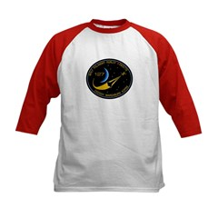 Space Shuttle STS-127 Kids Baseball Jersey