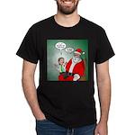 Santa and Bitcoins Dark T-Shirt