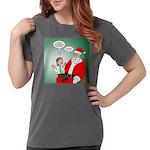 Santa and Bitcoins Womens Comfort Colors® Shirt