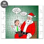 Santa and Bitcoins Puzzle