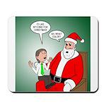 Santa and Bitcoins Mousepad
