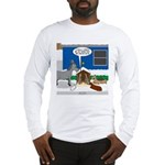 Yard Mixed-Size Nativity Long Sleeve T-Shirt
