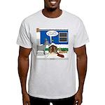 Yard Mixed-Size Nativity Light T-Shirt