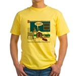 Yard Mixed-Size Nativity Yellow T-Shirt
