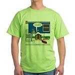 Yard Mixed-Size Nativity Green T-Shirt
