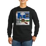 Yard Mixed-Size Nativity Long Sleeve Dark T-Shirt