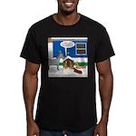 Yard Mixed-Size Nativi Men's Fitted T-Shirt (dark)