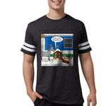 Yard Mixed-Size Nativity Mens Football Shirt