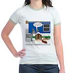 Yard Mixed-Size Nativity Jr. Ringer T-Shirt