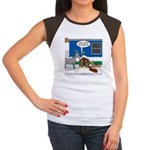 Yard Mixed-Size Nativi Junior's Cap Sleeve T-Shirt