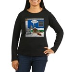 Yard Mixed-Size N Women's Long Sleeve Dark T-Shirt