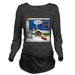 Yard Mixed-Size Nati Long Sleeve Maternity T-Shirt