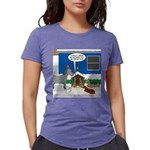 Yard Mixed-Size Nativity Womens Tri-blend T-Shirt