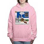 Yard Mixed-Size Nativity Women's Hooded Sweatshirt