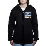 Yard Mixed-Size Nativity Women's Zip Hoodie