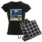 Yard Mixed-Size Nativity Women's Dark Pajamas