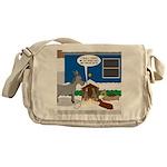 Yard Mixed-Size Nativity Messenger Bag