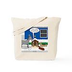 Yard Mixed-Size Nativity Tote Bag