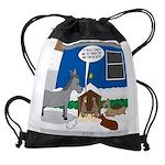 Yard Mixed-Size Nativity Drawstring Bag