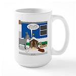 Yard Mixed-Size Nativity 15 oz Ceramic Large Mug