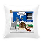 Yard Mixed-Size Nativity Everyday Pillow