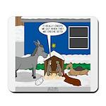 Yard Mixed-Size Nativity Mousepad