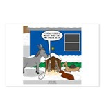 Yard Mixed-Size Nativity Postcards (Package of 8)