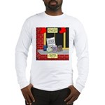 health nut santa Long Sleeve T-Shirt