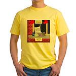 health nut santa Yellow T-Shirt