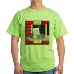 health nut santa Green T-Shirt