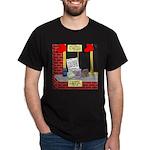 health nut santa Dark T-Shirt